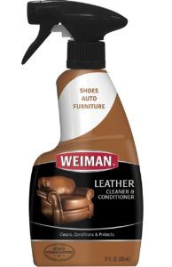 Weiman Leather Cleaner and Conditioner Trigger